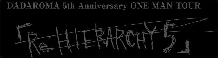 5th Anniversary ONE MAN TOUR
